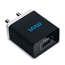 Buy Mivi Smart Charge 2.1A Wall Charger with AutoDetect Technology for iPhone, iPad, Samsung Galaxy, HTC, Nexus, Moto, OnePlus, Xiaomi, Bluetooth Speakers, Power Banks, Cameras and More (Black) from Amazon