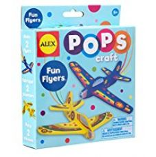 Buy Alex Toys Pops Craft Fun Flyers, Multi Color from Amazon