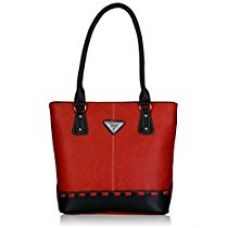 Buy Fantosy Women's Handbag (Red and Black) (FNB-318) from Amazon