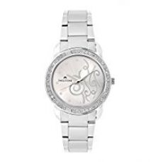 SWISSTONE Analogue Silver Dial Women's & Girls Watch (Jewels-Lr201-Silver) for Rs. 397