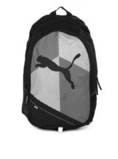 Get 35% off on Puma Unisex Echo Plus Black & White Backpack