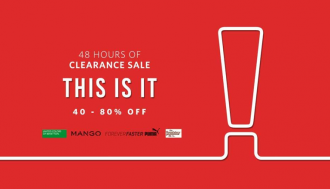 d11f7fb1004 40 to 80% fashion clearance sale at myntra - Dealplatter.com