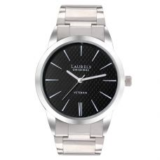 Laurels Large Size Polo Black Dial Men's Watch - Lo-Polo-102 for Rs. 479
