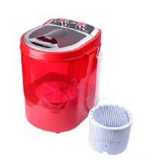 DMR 3 kg Portable Mini Washing Machine with Dryer Basket  (DMR 30-1208, Red) for Rs. 3,999