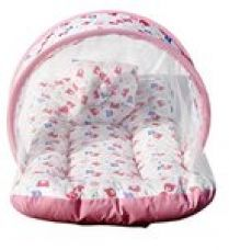 Amardeep and Co Toddler Mattress with Mosquito Net (Pink) - MT-01-Pink for Rs. 397