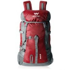 Buy Wildcraft 30 Ltrs Red Rucksack (Rock 2_Red) from Amazon