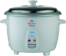 Flat 28% off on Bajaj Majesty RCX 5 Electric Rice Cooker  (1.8 L, White)