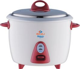 Buy Bajaj Majesty New RCX 3 Electric Rice Cooker(1.5 L, White) for Rs. 1,515