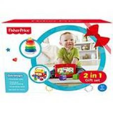 Fisher-Price 2in1 Gift Set with Baby's First Blocks & Rock A Stack for Rs. 598