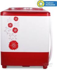 Buy Panasonic 6.5 kg Semi Automatic Top Load Washing Machine Red  (NA-W65B2RRB) for Rs. 7,799