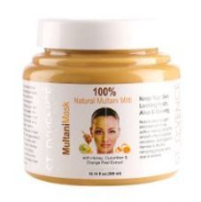 Buy ST. D'VENCÉ Multani Mask Face Pack with Honey, Cucumber and Orange Peel Extracts, 300ml from Amazon