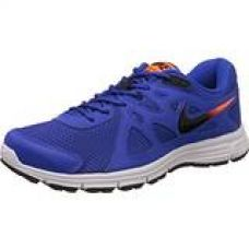 Buy Nike Men's Lyon Blue, Black, Total Orange and White Revolution 2 Msl Running Shoes - 7 UK/India (554954-409) from Amazon
