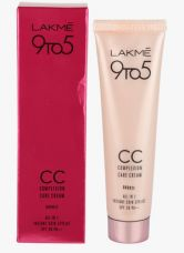 Get 25% off on Lakme Cc Complexion Care Cream All In One Instant Skin Stylist Spf 20 Bronze (30 Ml)