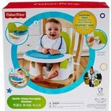 Buy Fisher Price Clean N Go Booster, Multi Color from Amazon