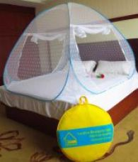 Verdioz White Embroidery Poly Cotton Mosquito Net for Rs. 1,199