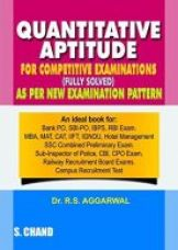 Get 32% off on Quantitative Aptitude For Competitive Examinations Paperback (English) 7th Edition 2015