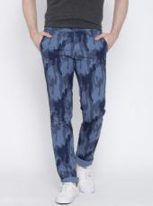 Men Camouflage Print Skinny Casual Trousers for Rs. 1099