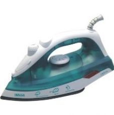 Buy Inalsa Optra 1200-Watt Steam Iron with Ceramic Coated Sole Plate (White/Purple) from Amazon