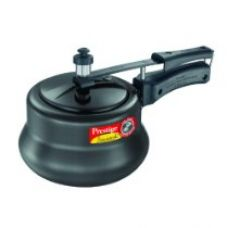 Prestige Nakshatra Plus Hard Anodised Inner Lid Aluminium  Pressure Handi, 3 Litres, Black for Rs. 1,700