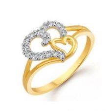 Buy Meenaz Fashion Jewellery Rings For Girls Couples Women Gold Plated Wedding Fancy Party wear American Diamond Love Valentine Gifts Girlfriend Ring Jewellery Set For Womens -Finger ring -401(10) from Amazon