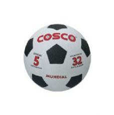 Buy Cosco Mundial Foot Ball, Size 5  (White/Black) from Amazon