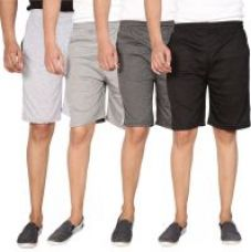 Buy Swaggy Combo of 4 Sports Shorts For Men from ShopClues