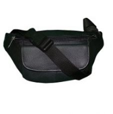 Buy Style98 Black Leather Neck Pouch from Amazon