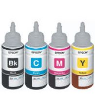 Original Epson Ink All Colors (T6641-B,T6642-C,T6643-M,T6644-Y) 70 Ml Each For L100/L110/L200/L210/L300/L350/L355/L550 for Rs. 384
