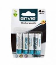 Flat 2% off on Envie AA 1000 4PL Ni-CD Battery