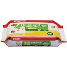 HAND AND MOUTH WIPES 60S, (Pack of 2) for Rs. 490