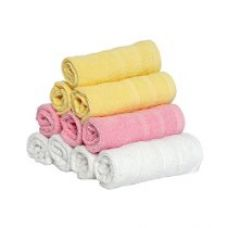 Buy Magna Export Quality Premium Range Set of 10 Face Towels from Amazon