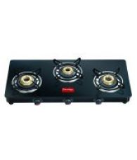 Prestige GTM03L 3 Burner Glass Manual Gas Stove for Rs. 4242