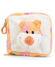 Buy Play N Pets Monkey Applique CD Case - Orange And White for Rs. 197