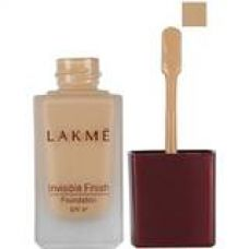 Lakme Invisible Finish SPF 8 Foundation, Shade 04, 25 ml for Rs. 213