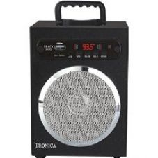 Buy Tronica Spectrum Speaker with Remote (Black) from Amazon