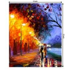 Buy TIED RIBBONS TIEDRIBBONS Romantical-Love-Painting-Photo-Love CANVAS(LXH)(18 inch x 22 inch) from Amazon