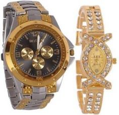 Flat 72% off on Rosra NR0256 Watch  - For Couple