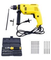 Buy Buildskill BED2100 Impact Reversible 13mm Drill + BMS1100 41pcs Screwdriver + Bits from SnapDeal