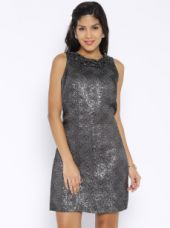Get 50% off on Avirate Charcoal Grey Shift Dress