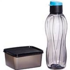 Buy Tupperware Xtreme Set, Bottle and Box for Travellers (Multicolor) from Amazon