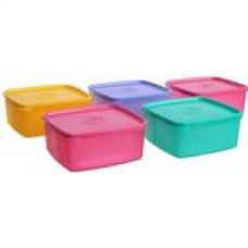 Tupperware Cool N Fresh Set, 5-Pieces,Color May Vary for Rs. 1,020