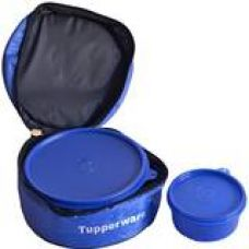 Tupperware Classic Plastic Lunch Box with Bag, 2-Pieces, Assorted for Rs. 542