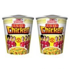 Buy Cup Noodles Spiced Chicken, 140g (Pack of 2) from Amazon