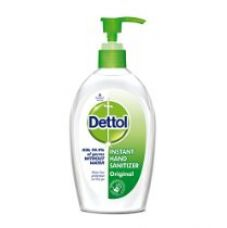 Buy Dettol Instant Hand Sanitizer - 200 ml from Amazon