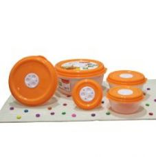 Flat 51% off on Princeware Fresh Ven Bowl Package Container Set, 5-Pieces...
