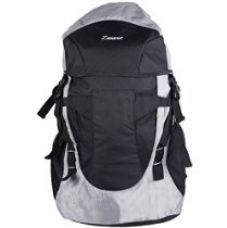 Zwart 35 Ltrs Black and Grey Backpack / Rucksack for Rs. 899