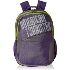 Buy American Tourister 25 Ltrs Purple Casual Backpack (CLICK 2016) from Amazon