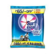 Surf Excel Easy Wash Detergent Powder - 4 kg for Rs. 479