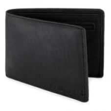 Buy Laurels Black Men's Wallet from Amazon