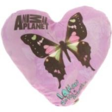 Animal Planet Animal Planet Heart Shaped Cushion-Butterfly for Rs. 278